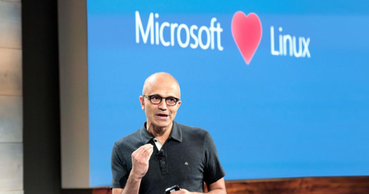 Microsoft поддержит разработку Linux