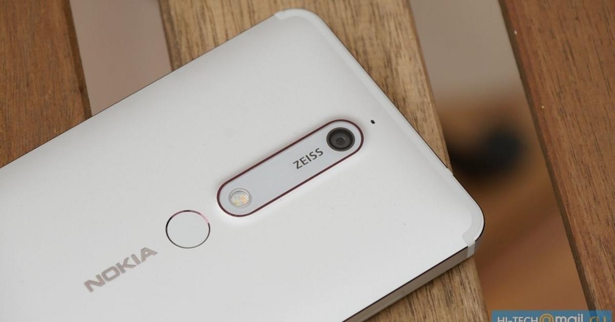 Nokia 6.1: объявили дату старта продаж смартфона