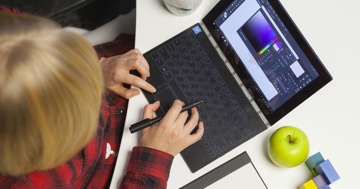 Обзор Lenovo YogaBook: удивительный планшет из будущего