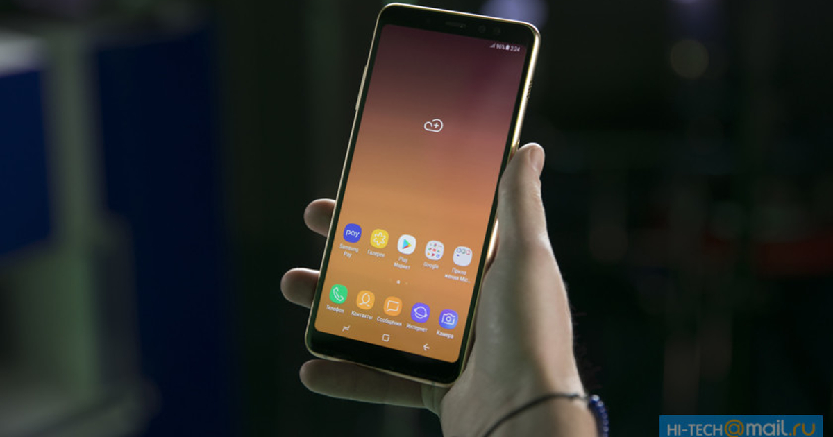 Samsung опубликовала стоковые фотографии, утверждая, чтоони сделаны наGalaxy A8 (2018)