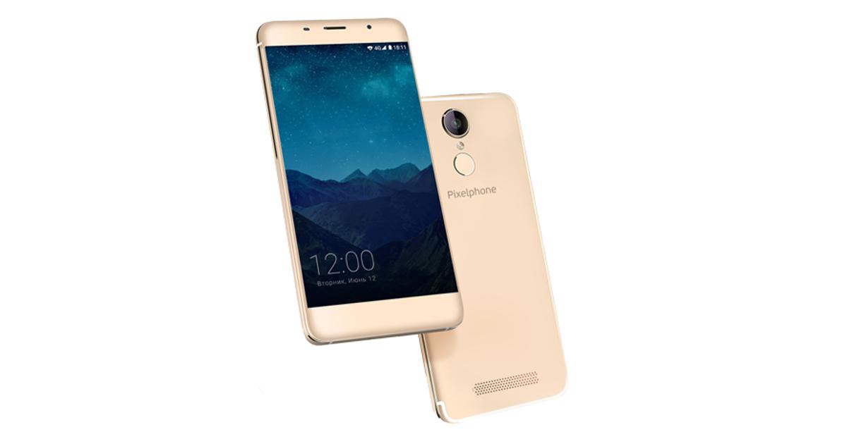 Pixelphone S1: новый российский смартфон появился впродаже