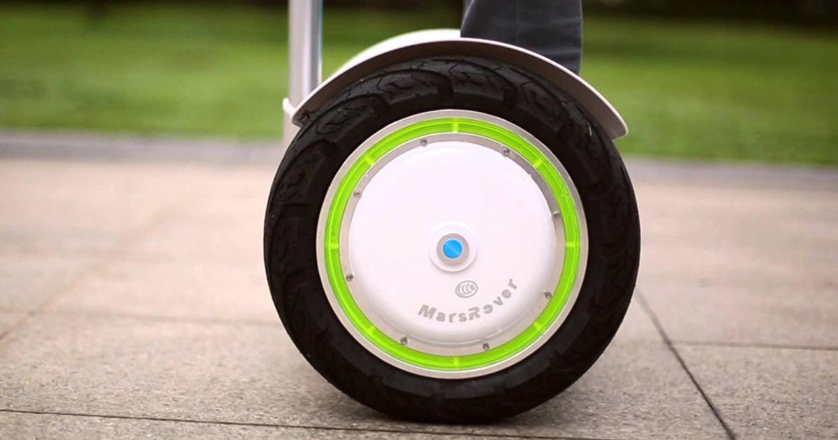 Электрический моноцикл Airwheel произвел фурор на Кантонской ярмарке