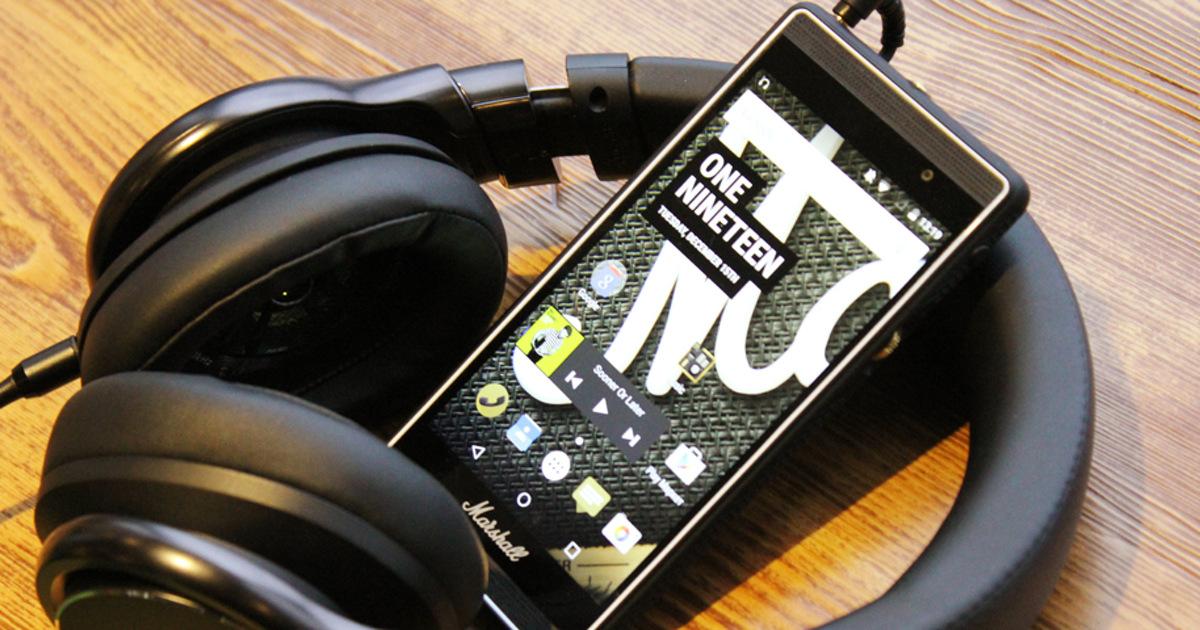 Обзор смартфона Marshall London: от меломанов для меломанов