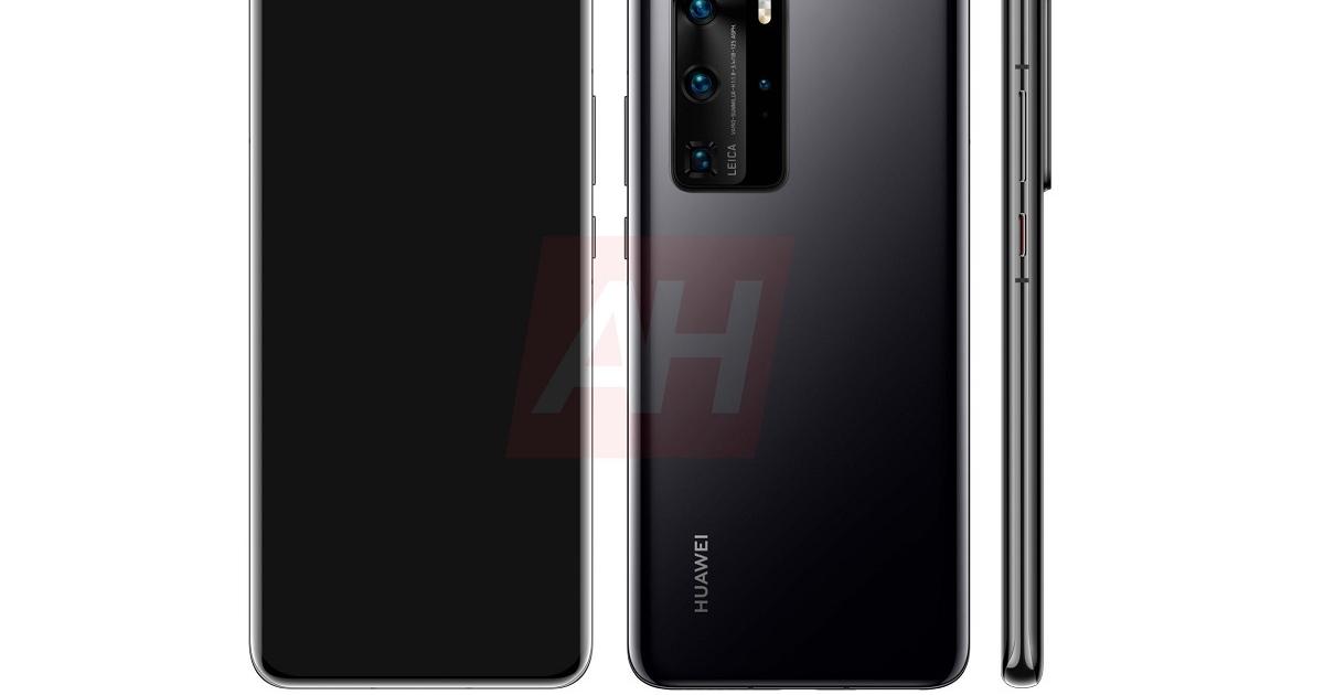Huawei P40 Pro: раскрыт дизайн главного флагмана