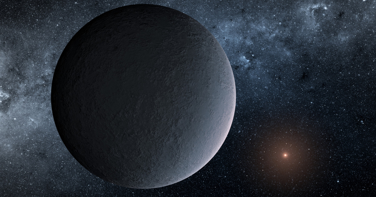 NASA обнаружило ледяную планету, похожую наЗемлю