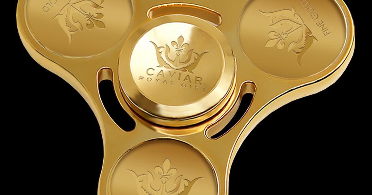 Caviar представила самый дорогой спиннер вистории