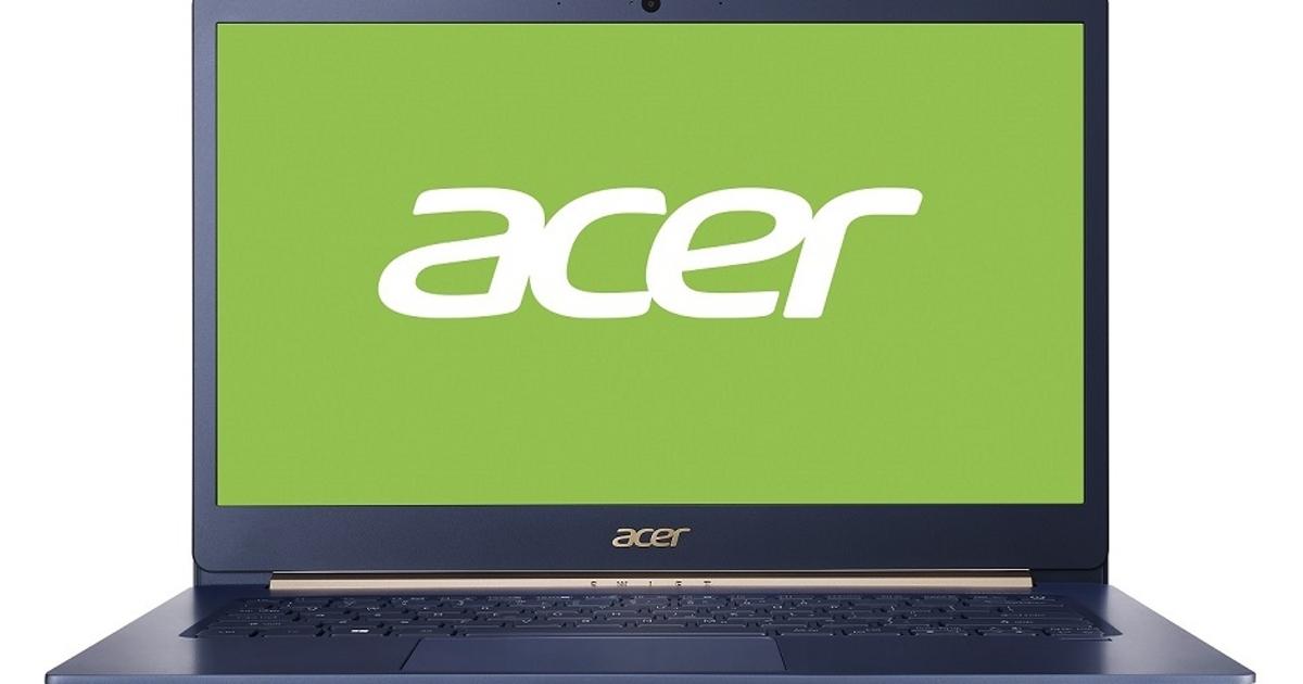 Acer Swift 5: самый легкий ноутбук компании появился вРоссии. Объявлена цена