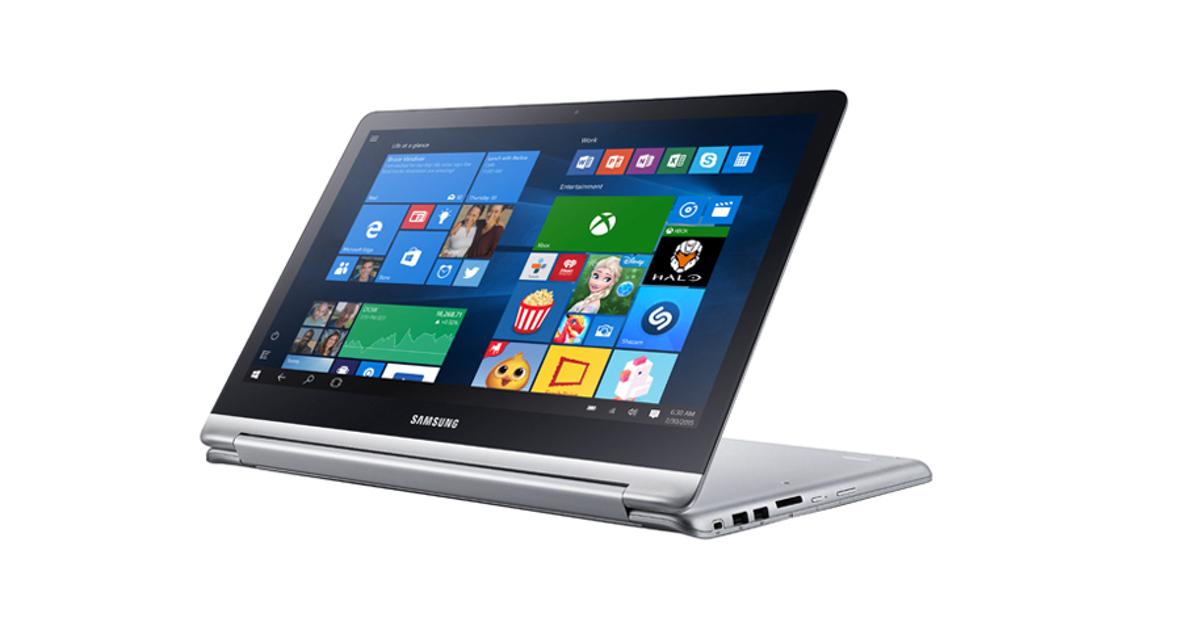 Samsung выпустила конкурента MacBook и Lenovo Yoga
