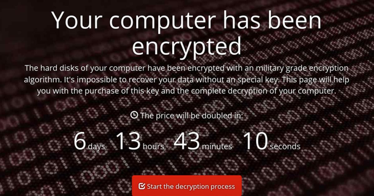 Инструкция: как предотвратить заражение вирусом-шифровальщиком