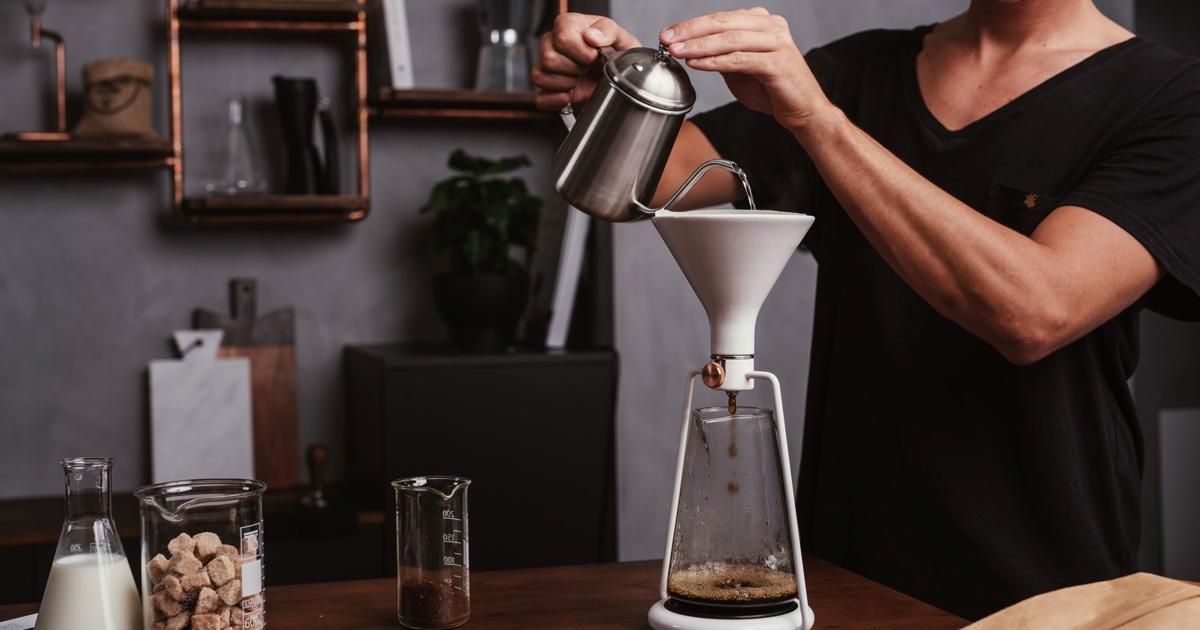 Создана умная кофеварка GINA сBluetooth