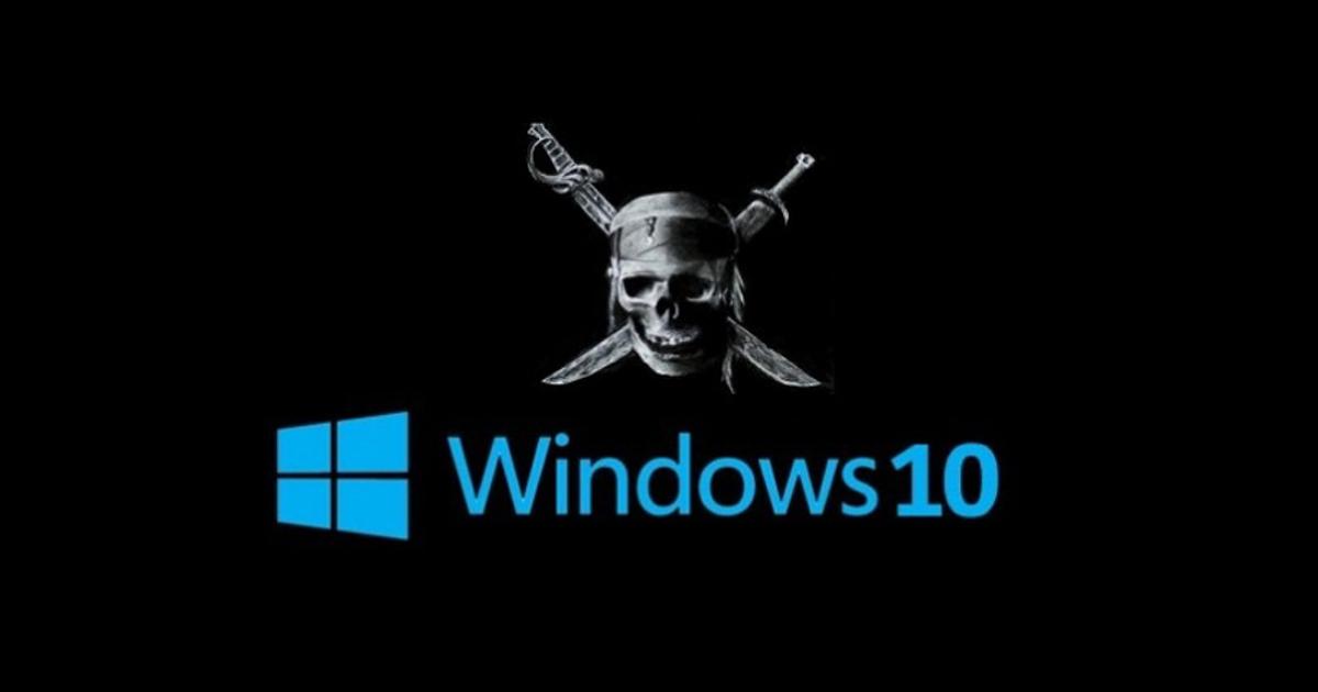 Windows 10 отключает пиратское ПО пользователей. Как это работает