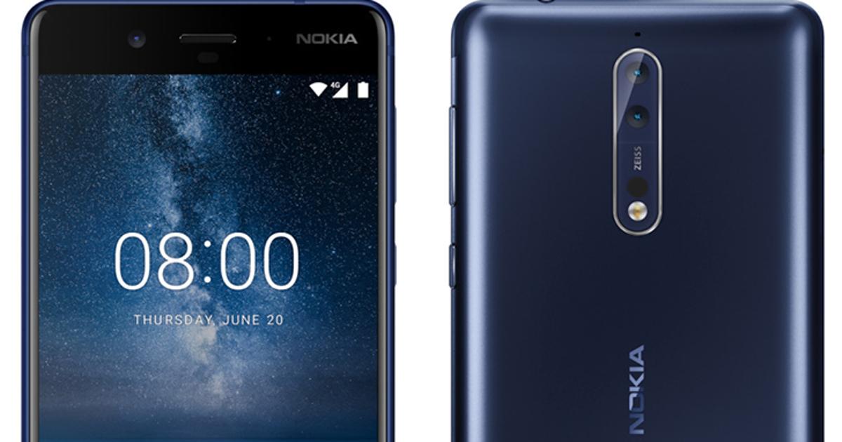Nokia 8: появились новые изображения, характеристики ицена