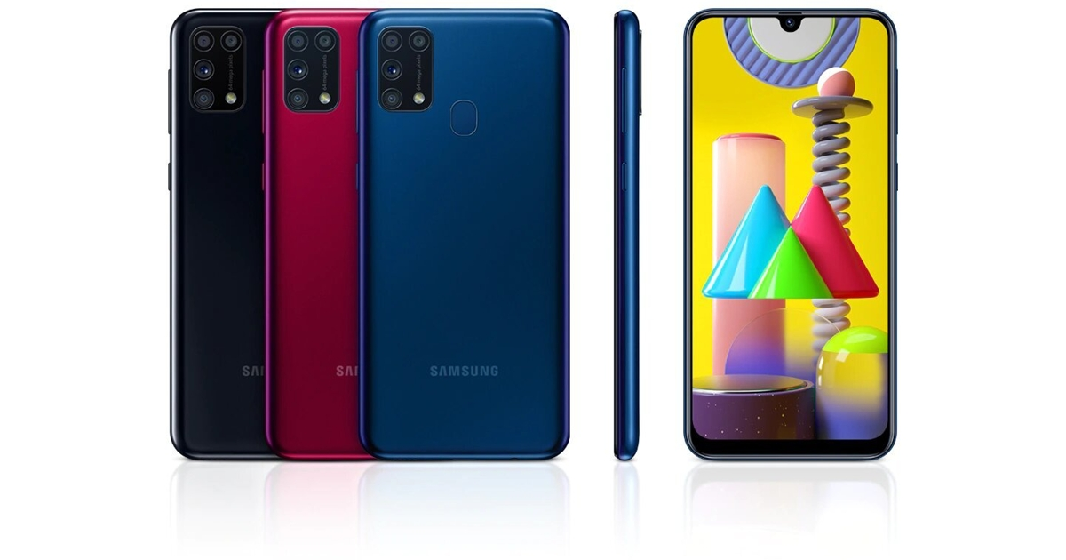 Samsung Galaxy M31: вРоссии начались продажи бюджетника согромным аккумулятором