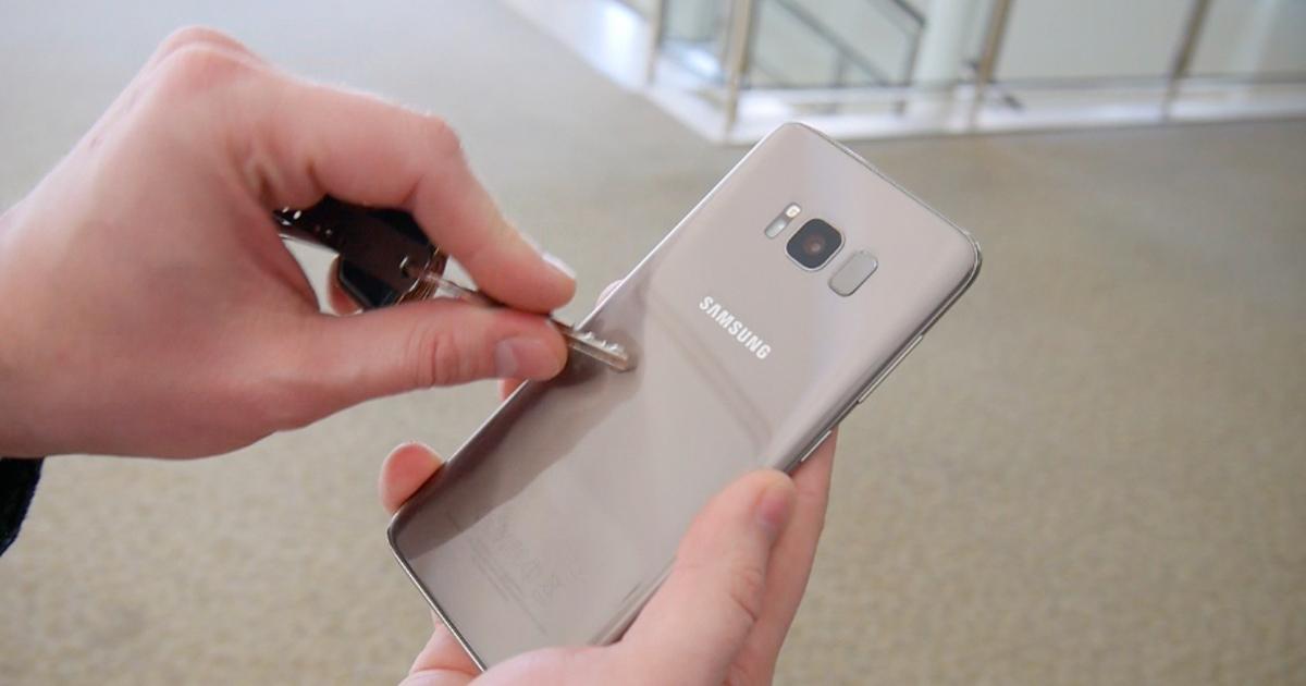 Экран Samsung Galaxy S8 против царапин