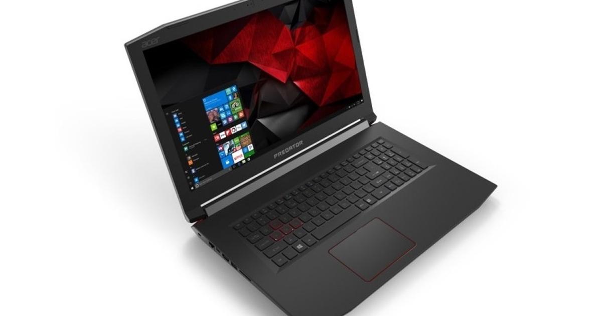 Acer Predator 2017: самые тонкие исамые доступные игровые ноутбуки