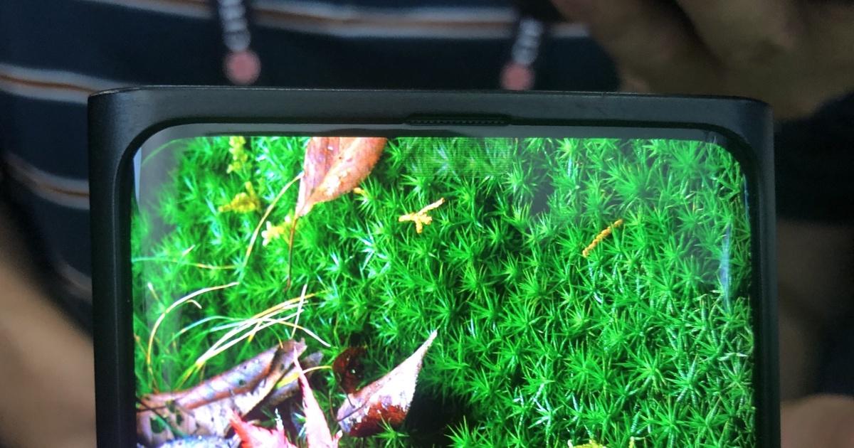 Фото: как выглядит смартфон Oppo сневидимой фронтальной камерой