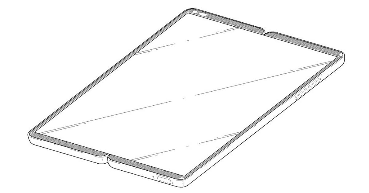 LG запатентовала уникальный складной смартфон