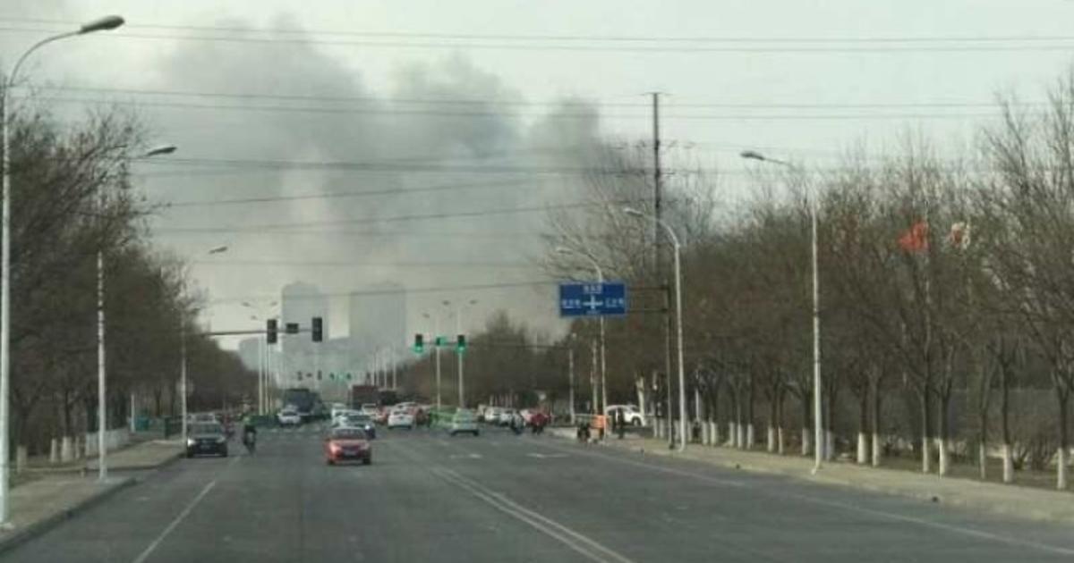 Накитайском заводе аккумуляторов Samsung произошел пожар