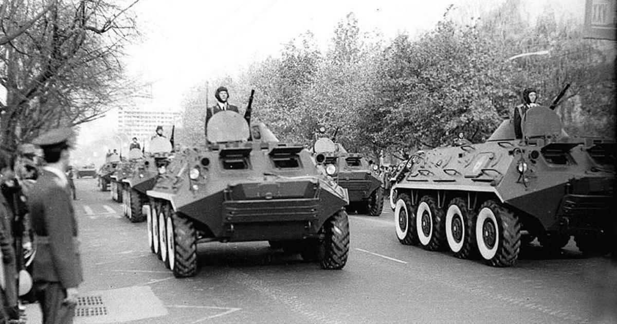 Разработан новый бронетранспортер набазе советского БТР-60