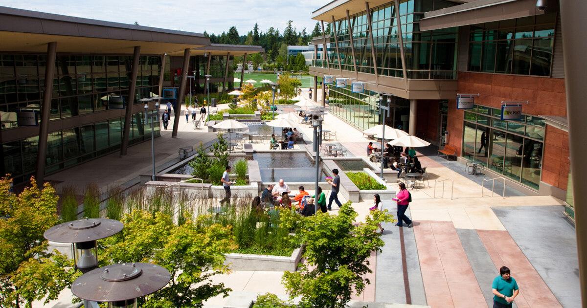 Кампус Microsoft: «технологичный» чудо-город вфотографиях