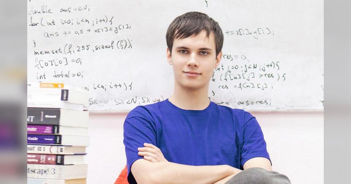 Белорусский студент стал лучшим программистом вмире