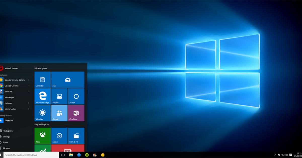 Windows 10 устанавливается без разрешения