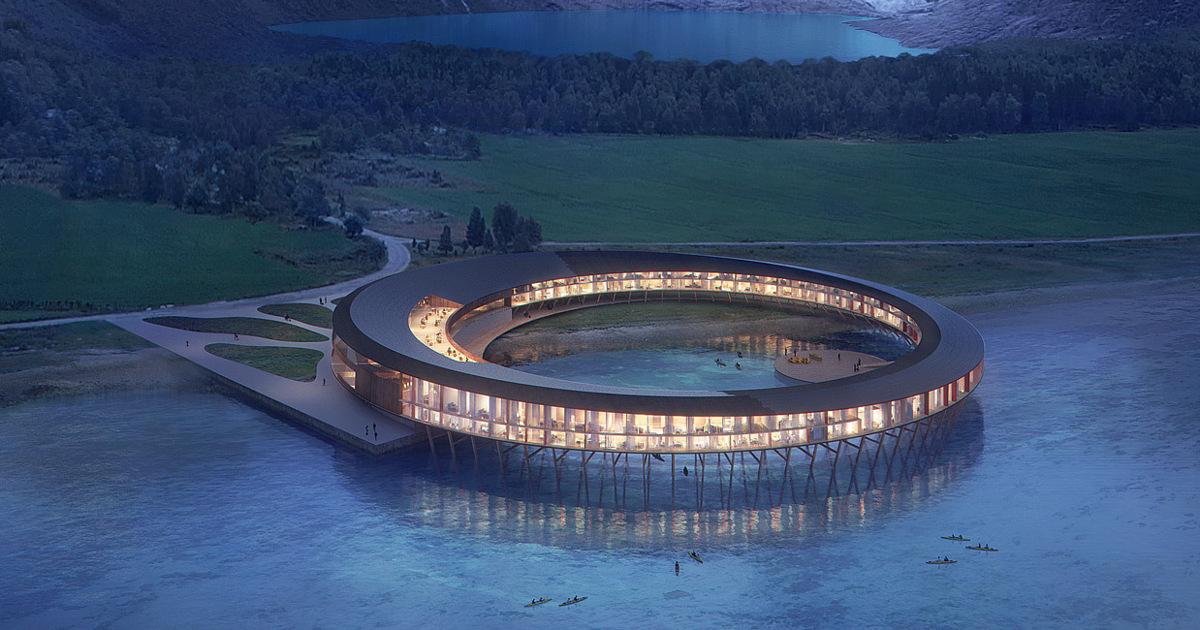 Svart: первый «энергоположительный» отель заполярным кругом