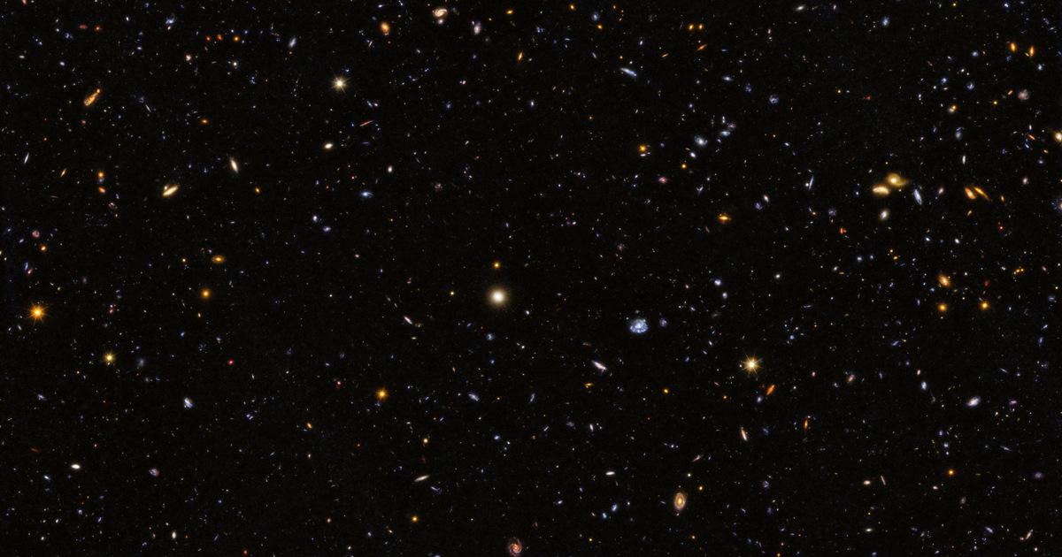 12 000 галактик: НАСА показало уникальный снимок