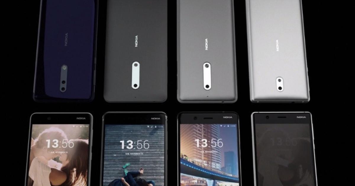 Nokia выпустит в2017 еще 4 смартфона: известны подробности