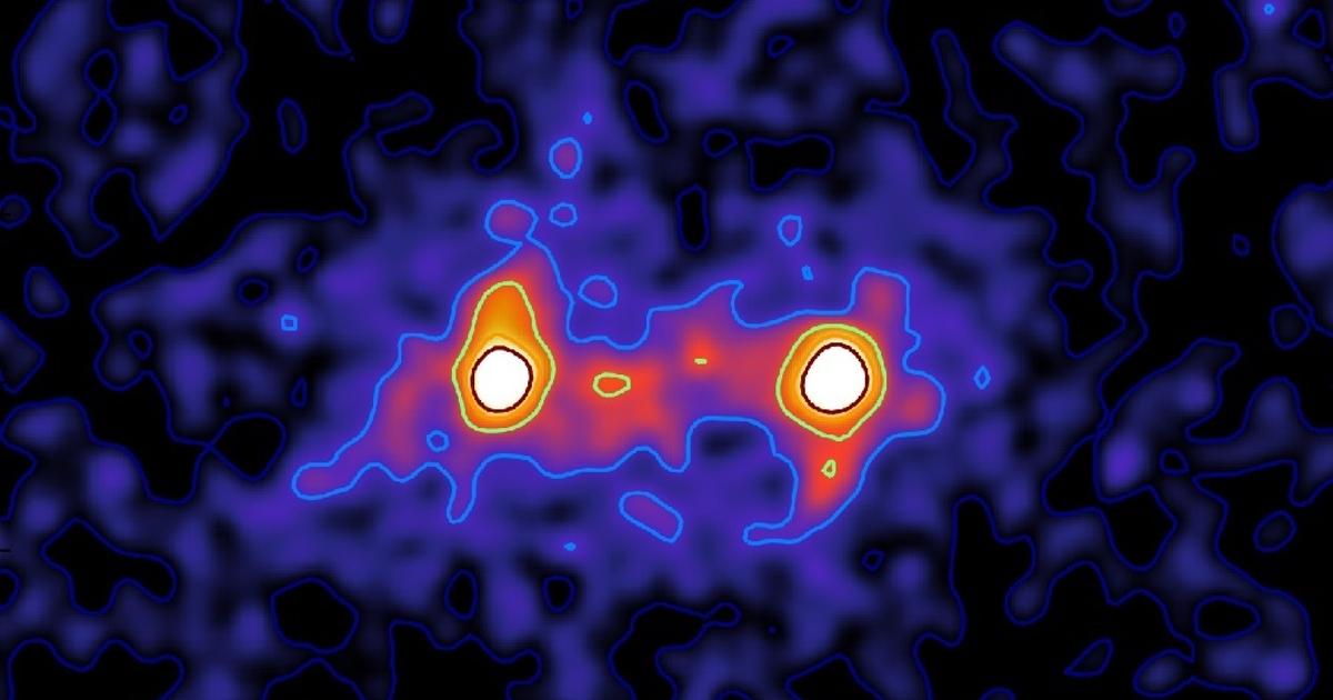 Ученые получили подробный снимок «нитей» темной материи