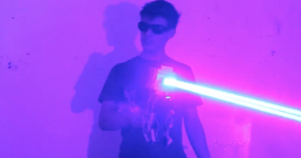 Лазерное оружие из фантастических фильмов стало реальностью