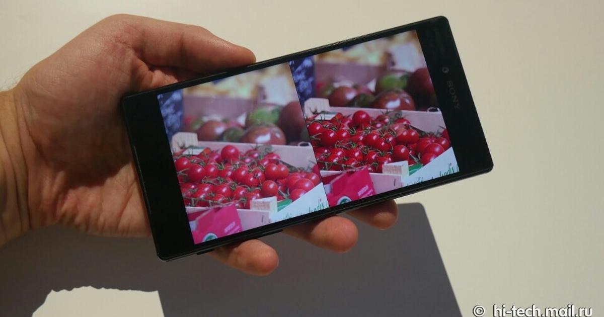 Sony Xperia Z5 Premium: смартфон с экраном, как у телевизора