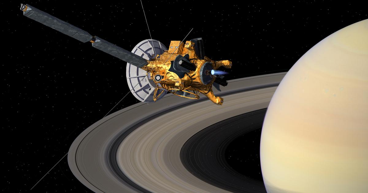 Финал «Кассини»: лучшие кадры «космического фотографа»
