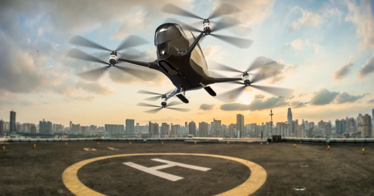 Полный провал: почему вРоссии неполетит первый пассажирский дрон