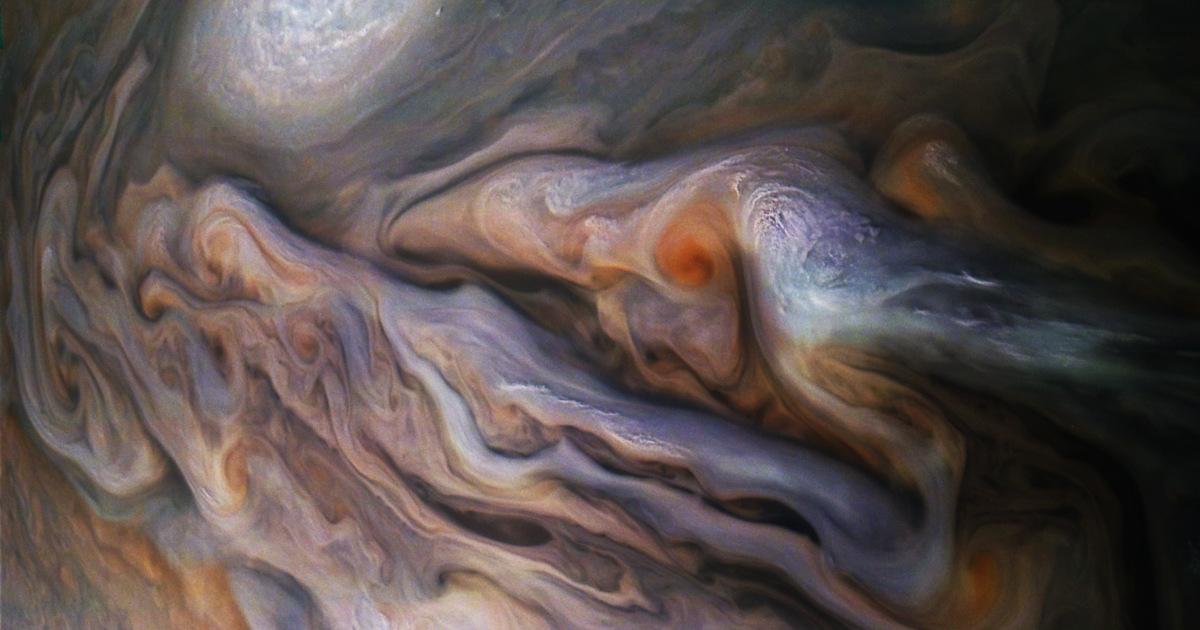 NASA показало поверхность Юпитера вблизи