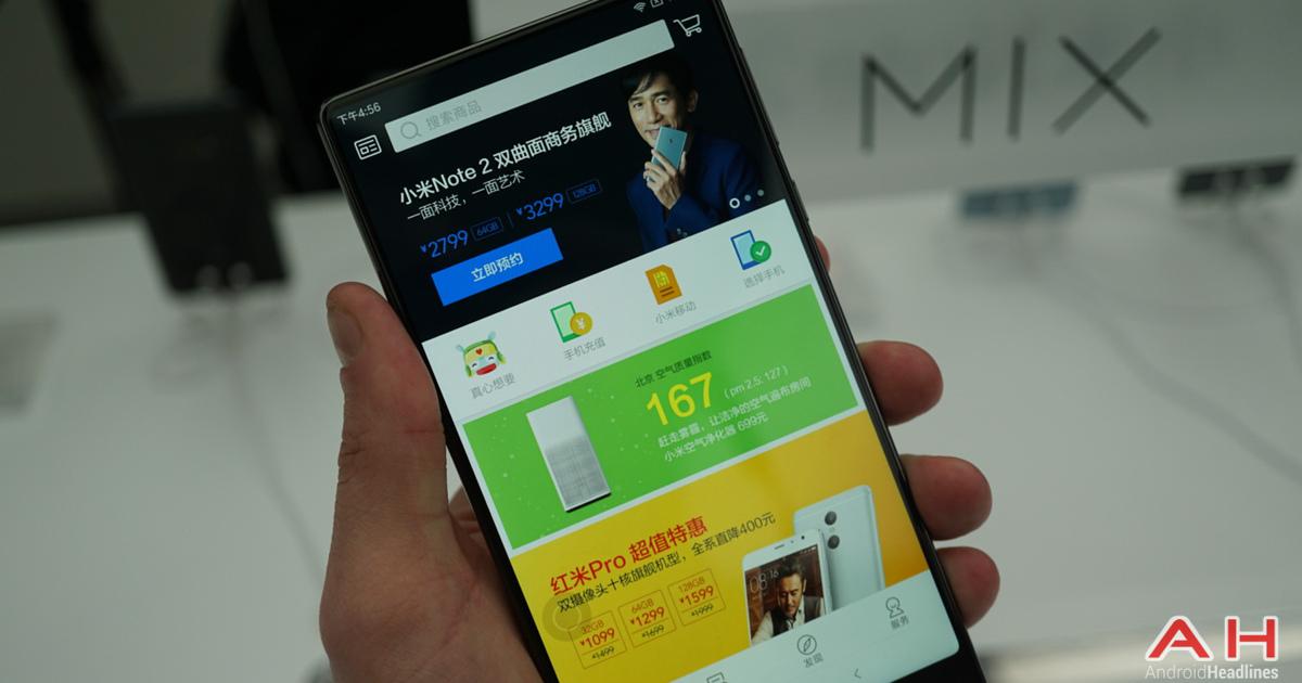 Xiaomi Mi MIX распродали за 10 секунд