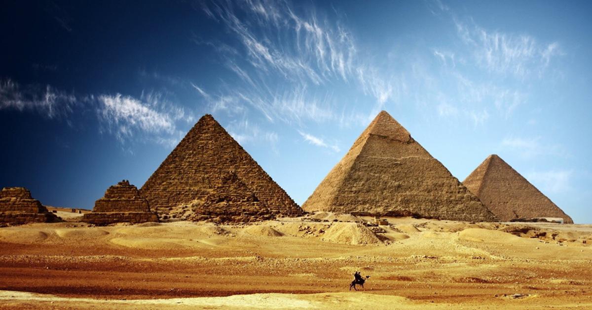 Египетские пирамиды просканируют из космоса