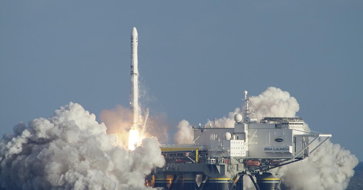 Российский конкурент ракеты Falcon 9 взлетит с«Морского старта»