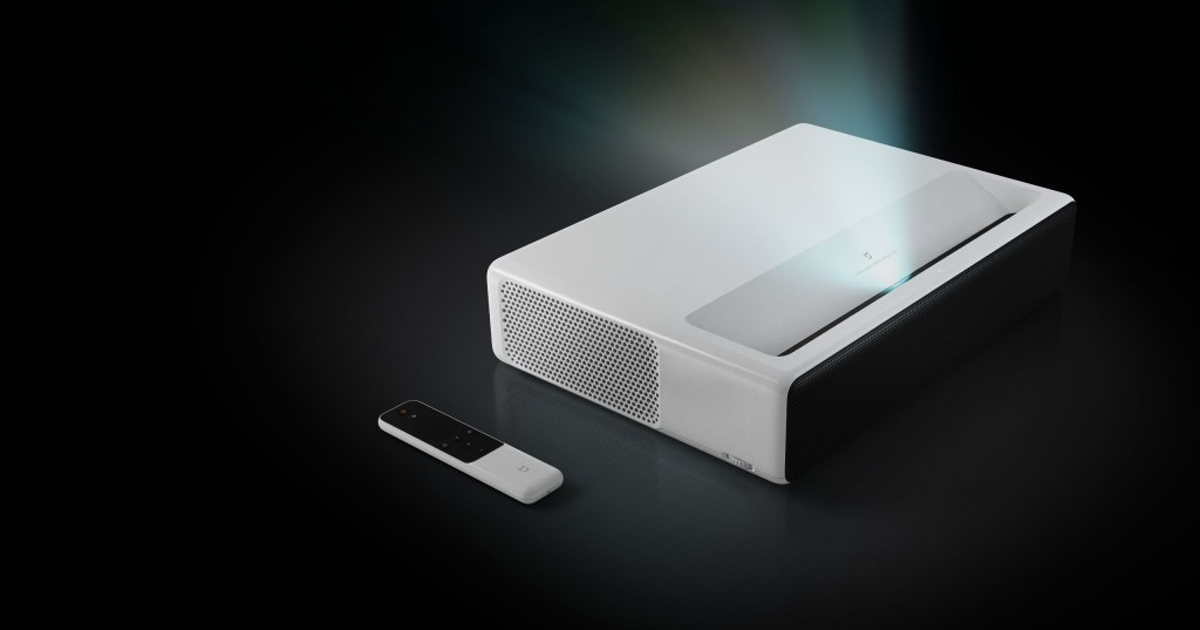 Xiaomi представила лазерный проектор наAndroid
