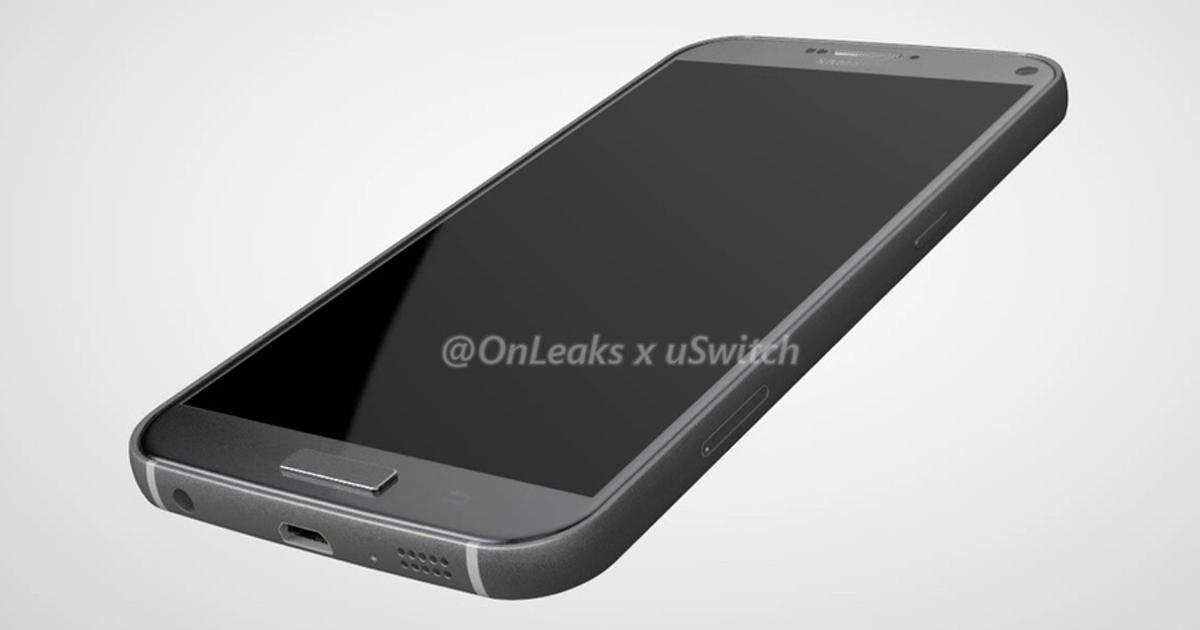 Смартфон Samsung Galaxy S7 Plus появился на качественных рендерах
