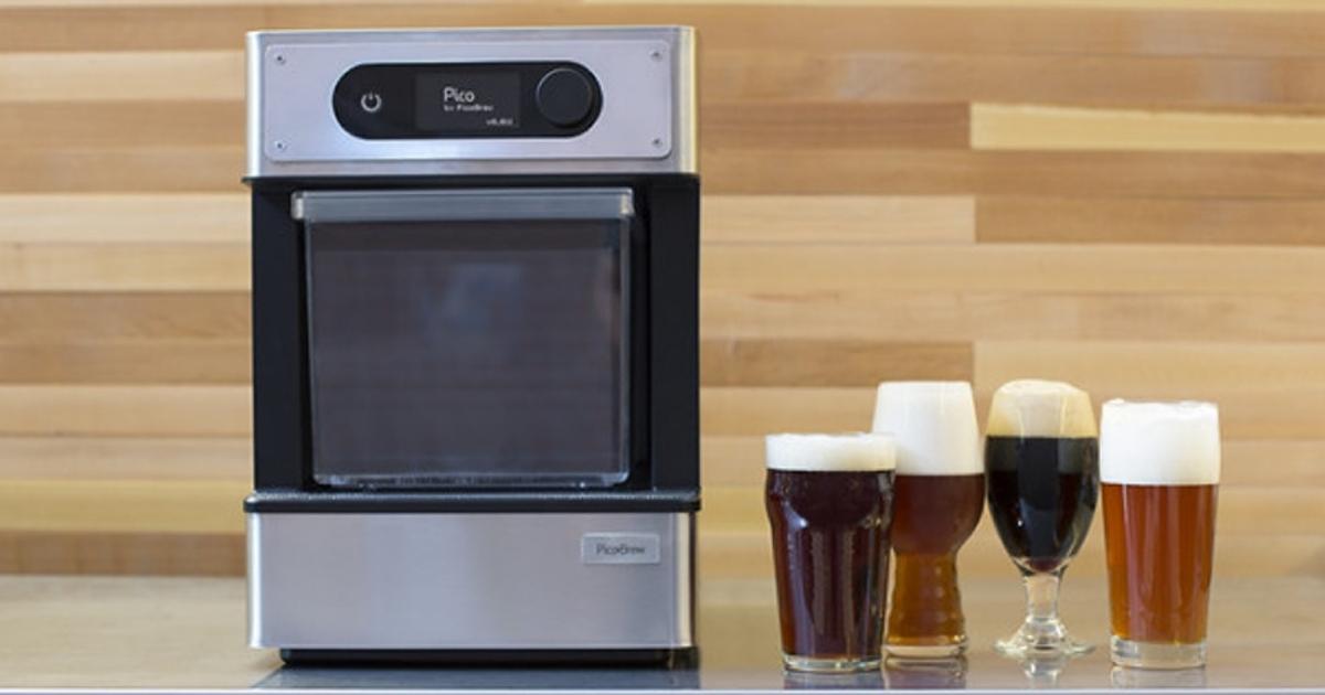 Первый в мире «3D-принтер для пива»