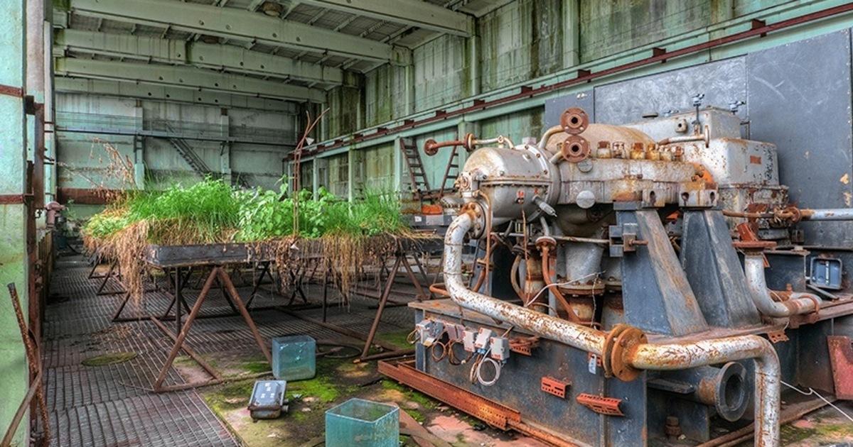 Ржавое наследие: как выглядит забытый всеми советский химкомбинат