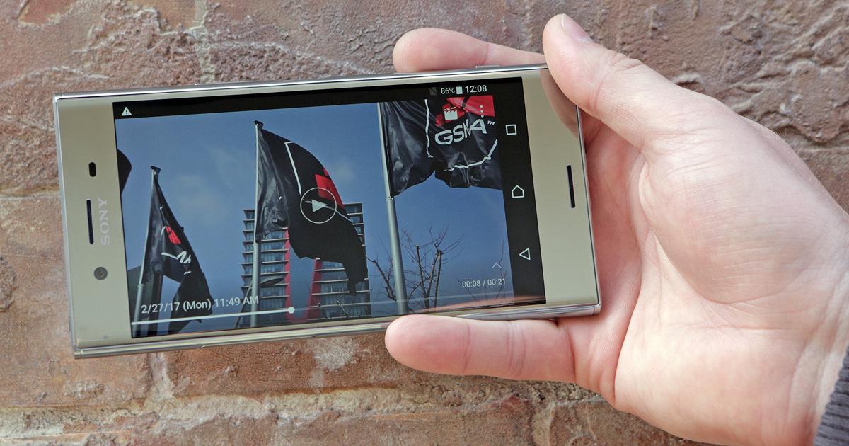 Эксклюзив: как Sony XperiaXZ Premium снимает видео наскорости 960 к/с?