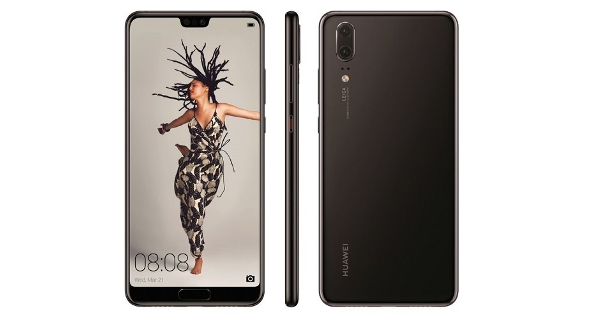 Появились красивые обои из флагмана Huawei P20