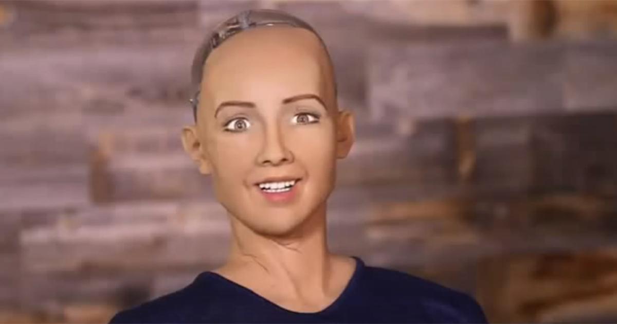 Человекоподобный робот заявил, что будет уничтожать людей
