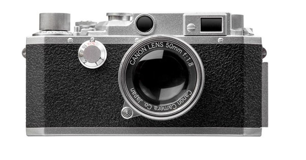 Canon выпустила ретрокамеру, которая оказалась обычной флешкой