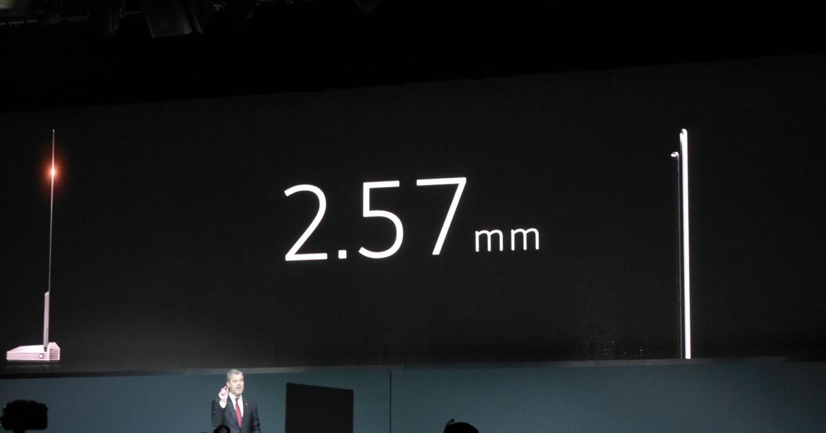 Представлен уникальный телевизор толщиной 2,57 мм и самооткрывающийся холодильник