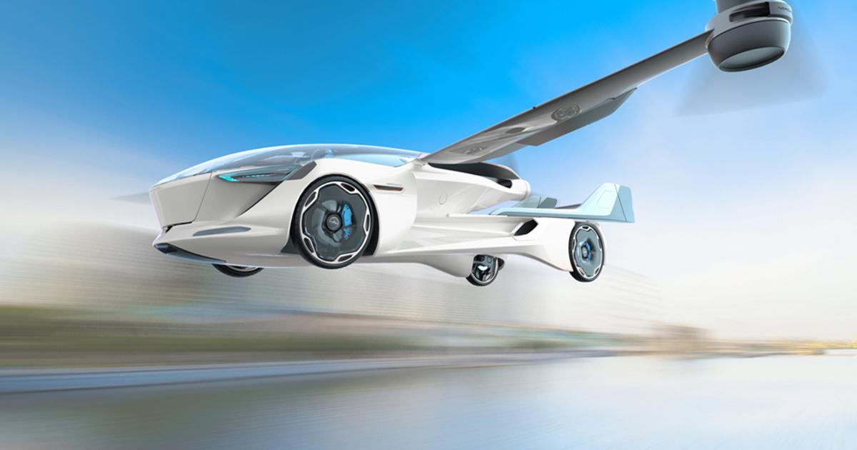 Словаки представили проект электрического летающего автомобиля