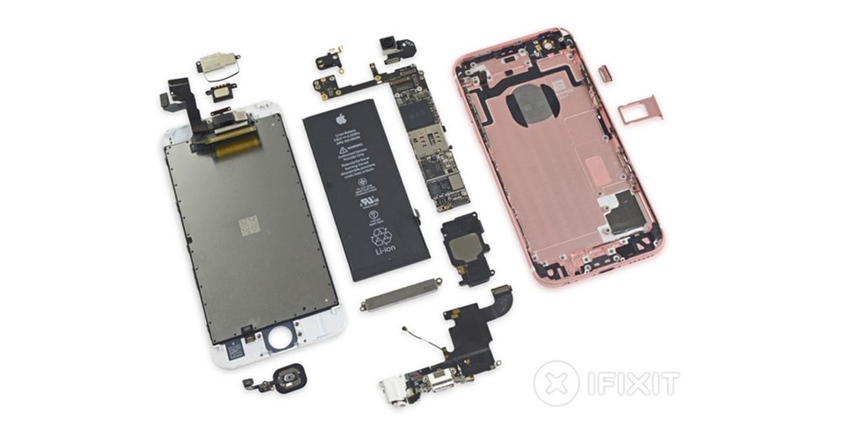 iPhone 6s разобрали на части