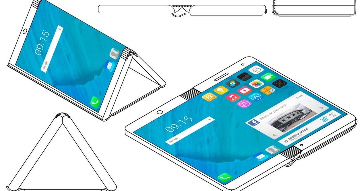 Motorola готовит «гибкий» смартфон ссамовосстанавливающимся экраном